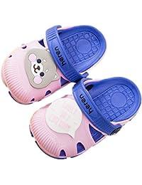 36397b689 hysxm Zapatos Nuevos para Niños Zapatos De Verano Divertidos Dibujos  Animados para Animales Zapatillas De PVC