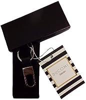 Portachiavi con moschettone in metallo con anello brisè, ideale per chiavi auto, casa e ufficio. Design elegante e senza tempo, perfetta idea regalo per il tuo LUI!!