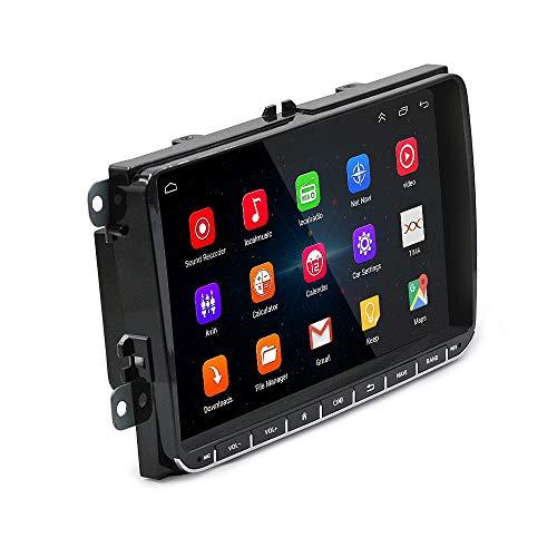 Cikuso Android 6.0 Auto 9 Zoll Radio Stereo Bildschirm GPS Navigation Bluetooth 4.0 USB Spieler Blinken Speicher für Volkswagen Passat Golf Mk5 Mk6 Jetta T5 EOS Touran Seat Sharan