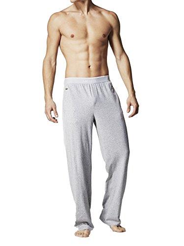 Lacoste Underwear Herren Schlafanzughose Lounge Pant, Grau (Grau-Mel. 202), Small