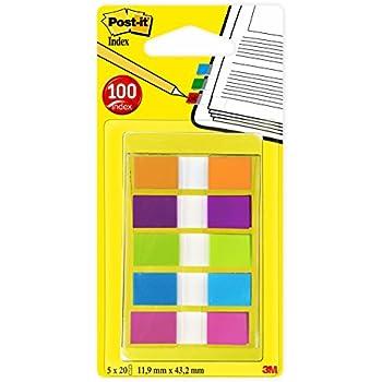 11 x 43 mm 4 x 35 Streifen 2 x Haftstreifen 3M Tartan Pagemarker Index Mini