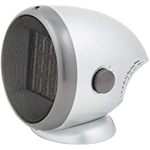 Alpatec RC16 - Radiador cerámico portátil, 1600 W, 21 x 20 x 20 cm, color plateado