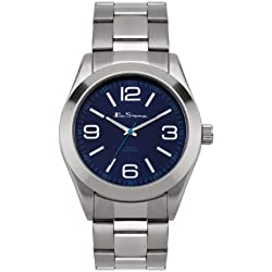 BEN SHERMAN Herren-Armbanduhr GENTS WATCH Analog Silber BS032