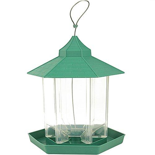 Gazebo Wild Bird Feeder Im Freien Hängen, Perfekt Für Garten Dekoration und Vogelbeobachtung Für Vogelliebhaber und Kinder (Hinterhof Für Vogelbeobachtung Kinder)