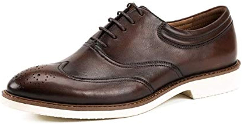 Scarpe da Uomo Broch Intagliato Oxford scarpe Inghilterra Casual Lace Low-Top scarpe   all'ingrosso    Gentiluomo/Signora Scarpa
