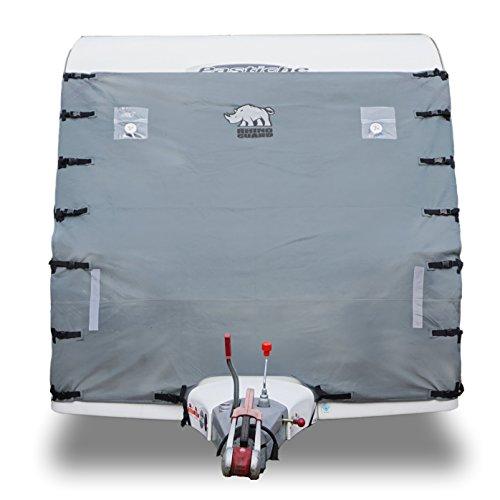 Rhino Guard Caravan - Funda Protectora universal para remolque, color gris claro