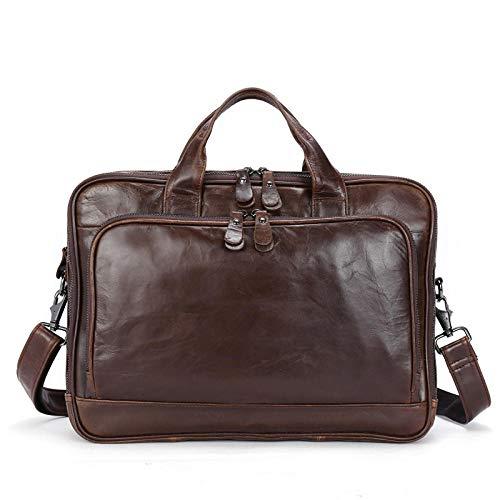 Herren Leder Top Layer Leder Business Aktentasche Großhandel Querschnitt Herren Handtasche Leder -