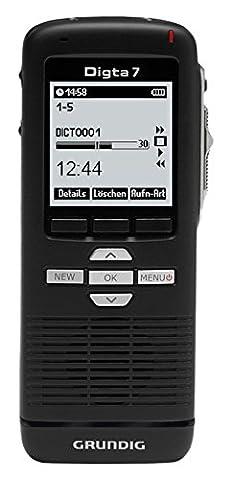 Digitales Diktiergerät Digta 7 (PDM7020-12), Handdiktiergerät inklusive
