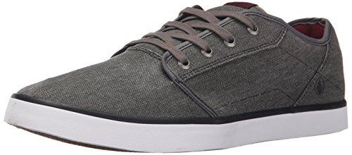 Volcom - Grimm 2 Shoe, Scarpe da skateboard Uomo Grigio (Grau (Black Destructo BKD))