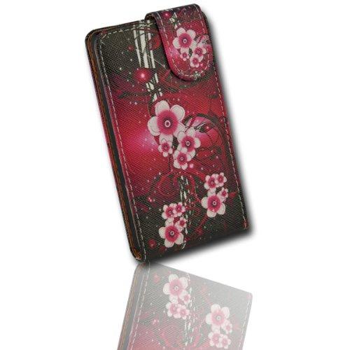 Handy Tasche Flip Style - Design No.5 - Cover Hülle Case Etui für Huawei Ascend Y300