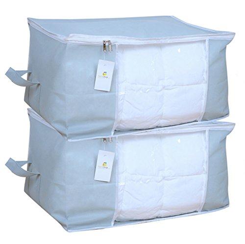 Homestrap Big Underbed Storage Bag/Storage Organiser – Grey