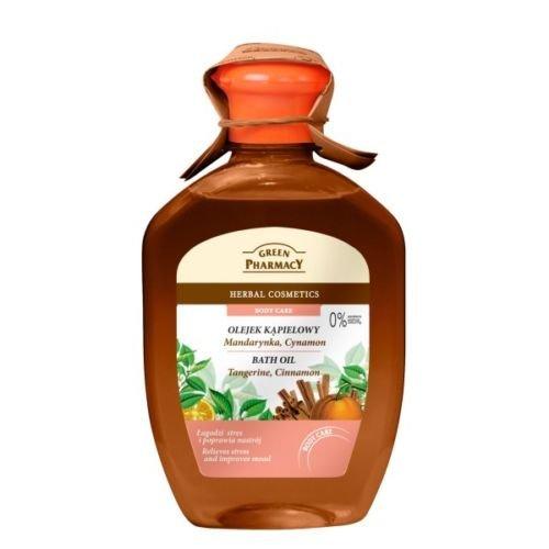 GREEN PHARMACY 2in1 BADEÖL +DUSCHGEL Mandarine & Zimt ohne Parabene 250ml