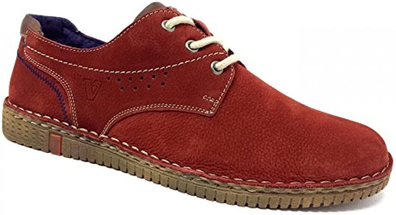 Valleverde Herren Sneaker Rosso Prugna  Billig und erschwinglich Im Verkauf