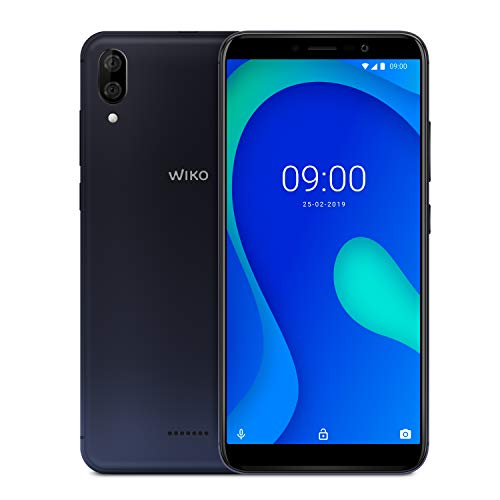 wiko y80 italia, smartphone, gradient dark blue, android 9 pie, display 5,99 2gb ram 16gb rom,processore octa-corwiko mobile y80 wiko (5.99) 16 gb dual sim 4g blu 4000 mah li-po mp 13 antracite blue