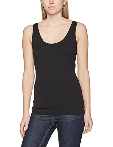 s.Oliver Damen Top 4899344006, Schwarz (Black 9999), 46 (Stretch Tank Top T-shirt)