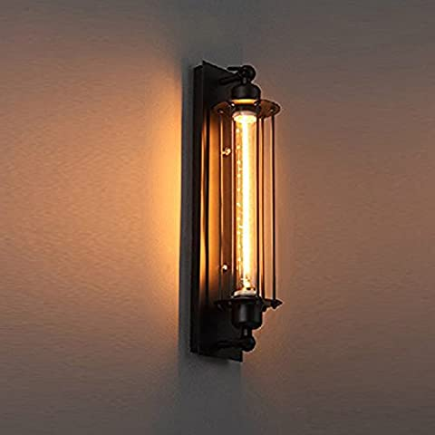 PAUWER Industrial Wall Light Edision Vintage Wall Sconce Light Fixture