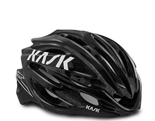 Kask, Casco da ciclismo Vertigo 2.0, Nero (Noir), M (48-58 cm)