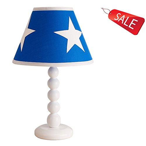 Kindertischlampe Junge Schlafzimmer Nachttischlampe kreative Sterne einfache europäisch-amerikanische Raumbeleuchtung E27