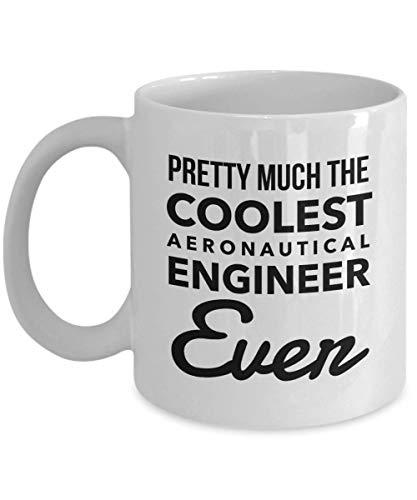 Regalos del ingeniero aeronáutico de la taza: la taza de café más fresca que nunca, apreciación de la novedad gracias ideas de regalo para Navidad o cumpleaños, taza de 11 onzas
