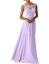 La Marie Braut 2018 Lilac Spitze Abendkleider Ballkleider Partykleider  Festlichkleider… 6252f36b4b