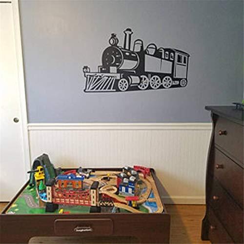 Zug vinyl wandtattoo aufkleber kinder junge kinder schlafzimmer wandkunst wandbilder kinderzimmer dekor 2 56 * 35 cm