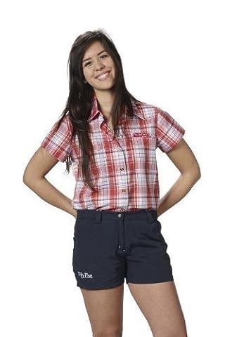 kurze Wander-Hose Trekking-Hosen für Damen von Fifty Five - Jane navy 44 - Quick-Dry-Technologie für Outdoor-Bekleidung