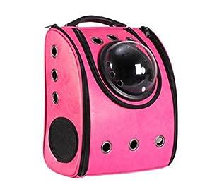 DLUF Sac à dos Pet / Space Cabin Sac à bandoulière double / Chien et chien Voyage Sac à dos portatif / Pet Nest / Cortex Material , d