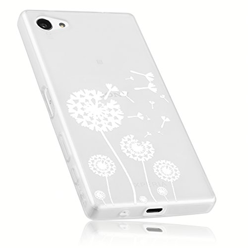 mumbi Schutzhülle für Sony Xperia Z5 Compact Hülle im Pusteblume Design