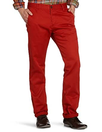 Dockers Herren Hose Normaler Bund 44715 / Dockers® Alpha Khaki, Gr. 30/34, Rot (0087 Red Ochre)