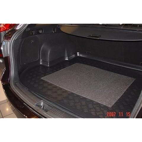 cubeta del maletero con antideslizante adecuado para Mazda 6 Sport Combi 06/2002-2008 Ancho 138cm x Largo