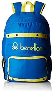 United Colors of Benetton 25 Ltrs Blue Casual Backpack (16A6BAGT7005I)