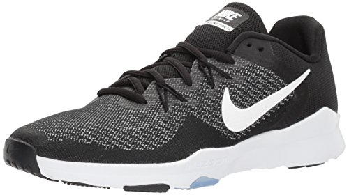 Nike Damen Zoom Condition Tr 2 Laufschuhe, Mehrfarbig (Black/White/Gunsmoke 001), 40.5 EU -
