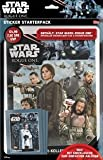 Topps R1S de stsp2 – Star Wars Rogue One adhesivo Starter Pack, álbum de pegatinas y 15 cromos