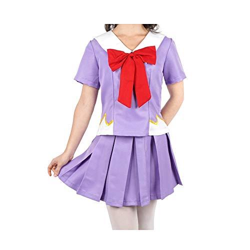 Vokaer Halloween Anime die Zukunft Tagebuch Gasai Yuno Mirai Nikki top & Rock Cosplay kostüm,M