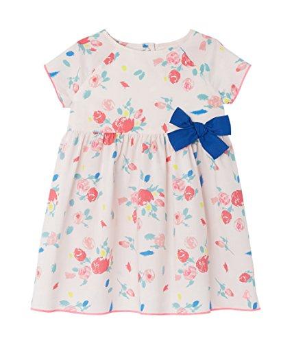 Petit Bateau Baby-Mädchen Kleider Robe MC_22049, Mehrfarbig (Vienne/Multico 28), 80 (Herstellergröße: 12m/74cm) (Mit Popeline Blumen-print)