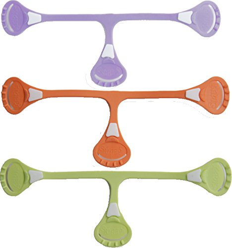 Snappi Windelklammer Pastellfarben 3er-Set
