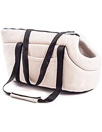 Bolso transportín para perros modelo Doggy Bag pequeño beige Doggy Bag Piccola