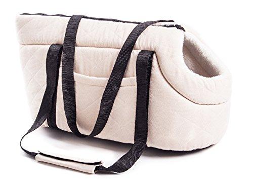 Borsa Trasportino per Cani Modello Doggy Bag Piccola Doggy Bag Piccola Beige