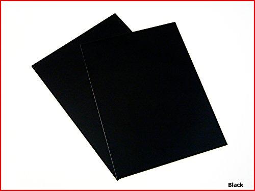 Feuille A4de vinyle autocollant Mat Couleur Panneau en vinyle Craft DC Fix noir