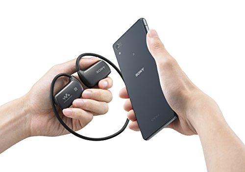 Sony Walkman - Reproductor de MP3 (4 GB, Bluetooth, control remoto), negro