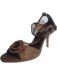 ELLIED - Sandalias de vestir de Piel para mujer Marrón beige, color Marrón, talla 40