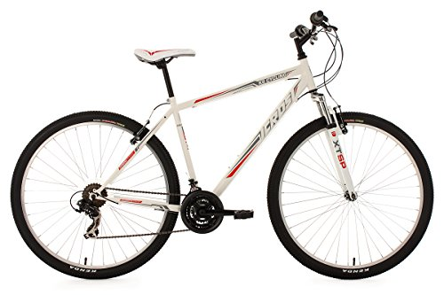 "KS Cycling Icros VTT semi rigide Twentyniner 29"" Blanc/Rouge TC 51 cm"