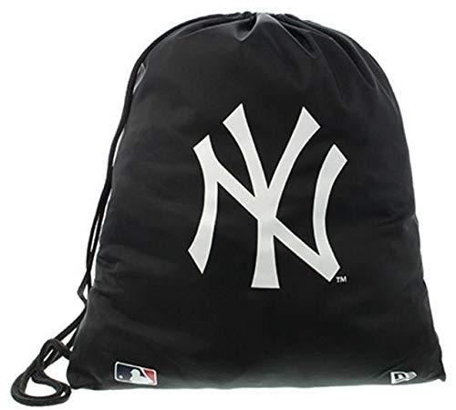 Imagen de saco sport gymsack new era  mlb new york yankees negro/blanco