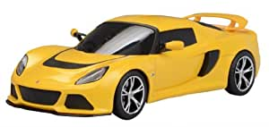 Welly Lotus Exige S, Silverblue/Yellow