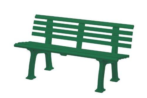 Gartenbank Sylt grün Blome 3-Sitzer
