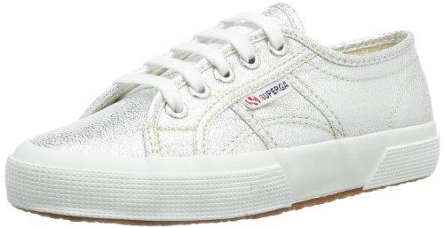Superga 2750-LAMEJ S002J20, Sneaker Unisex bambini Argento (Silber (Silver 031))