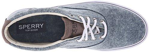 Sperry Top-sider Mens Striper Ll Cvo Fashion Sneaker Berretto Bianco Navy