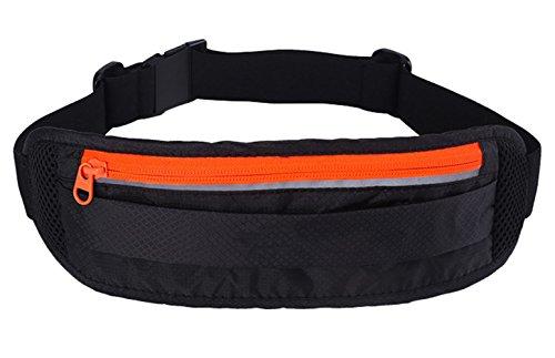 Sport-Brusttasche Utility Gadget Pouch mit Kopfhörerloch zum Angeln Joggen