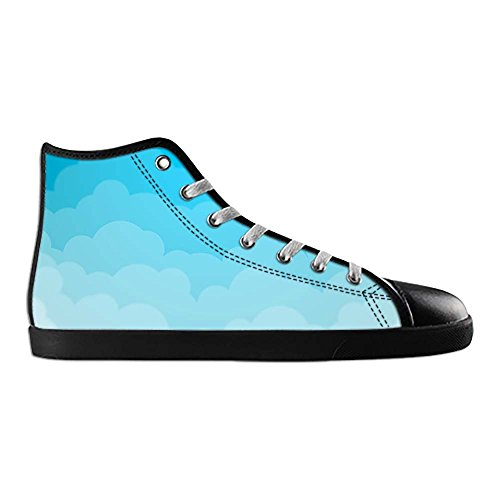 Canvas Sneakers Dalliy Wolken A High turnschuhe up Schuhe Blaue Lace schuh Men's Segeltuchschuhe Leinwand top Shoes vwrcF5vxtq