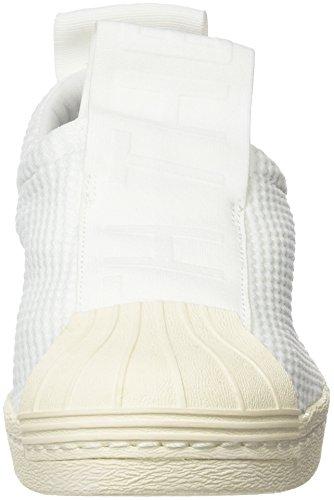 adidas Superstar Bw3s Slipon W, Scarpe Sportive Donna Bianco (Ftwbla/Ftwbla/Casbla)